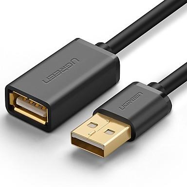 USB 2.0 Verlengingskabel, USB 2.0 to USB 2.0 Verlengingskabel Mannelijk - Vrouwelijk 1.5M (5FT)