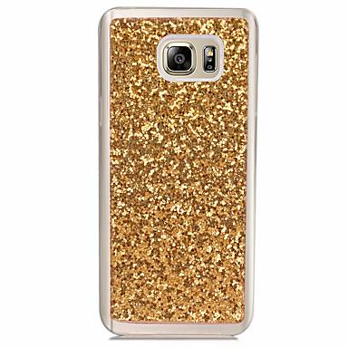 hoesje Voor Samsung Galaxy Doorzichtig Achterkant Glitterglans Zacht TPU voor Note 5 Note 4 Note 3 Note 2