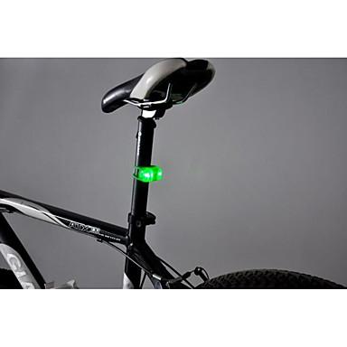 رخيصةأون اضواء الدراجة-LED اضواء الدراجة اضواء الدراجة ركوب الدراجة واسع الانتشار إضاءة متألق CR2032 البطارية أبيض دافئ أحمر أزرق Everyday Use