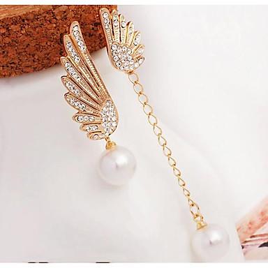 Pentru femei Cercei Picătură Ștras Imitație de PerleDesign Basic Design Unic Ștrasuri Perle Prietenie bijuterii de lux Bijuterii