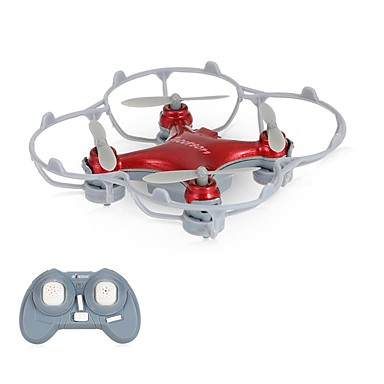 RC Drone Cheerson CX10SE Red 4-kanaals 6 AS 2.4G RC quadcopter LED verlichting 360 Graden Fip Tijdens Vlucht Zweven RC Quadcopter