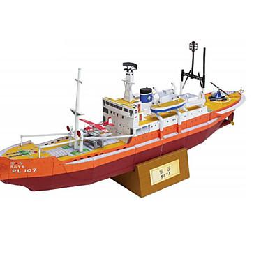 3D-puzzels Papierkunst Vierkant Schip 3D Simulatie DHZ Hard Kaart Paper Unisex Geschenk