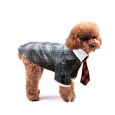 Hund Smoking Hundekleidung Britisch Schwarz Grau Leopard Baumwolle Kostüm Für Haustiere Herrn Damen Hochzeit