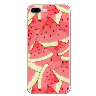 Fall für Apfel iphone 7 7 plus Fallabdeckung Wassermelonemuster hd gemaltes tpu materielles weiches Falltelefonkasten für iphone 6s 6 plus