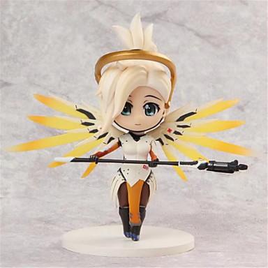 Anime Action Figures geinspireerd door Overwatch Cosplay PVC 10 CM Modelspeelgoed Speelgoedpop Unisex