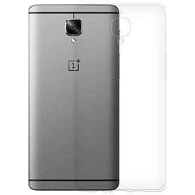 hoesje Voor OnePlus One Plus 3 Transparant Achterkant Transparant Zacht TPU voor One Plus 3 OnePlus