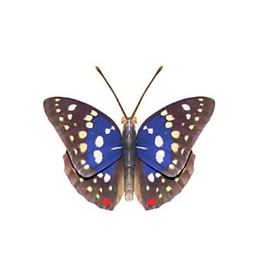 3D-puzzels Bouwplaat Modelbouwsets Papierkunst Speeltjes Vlinder 3D Insect DHZ Unisex Stuks