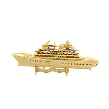 تركيب الخشب نموذج مجموعات البناء حامل الطائرة ألعاب سفينة حربية حامل الطائرة 3D خشب قطع