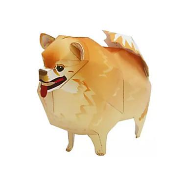 3D-puzzels Bouwplaat Papierkunst Modelbouwsets Honden Dier Dieren DHZ Klassiek Kinderen Unisex Geschenk