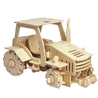 3D-puzzels Metalen puzzels Houten modellen Modelbouwsets Tank DHZ Natuurlijk Hout Klassiek 6 jaar en ouder