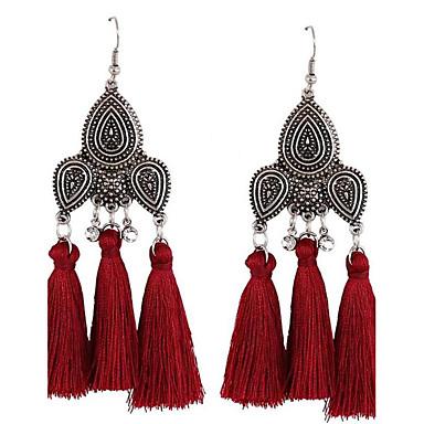 Dames Druppel oorbellen Sieraden Oversized EVA hars Legering Geometrische vorm Sieraden Voor Bruiloft Feest Formeel Festival