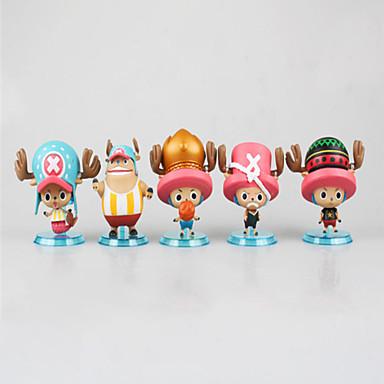Anime Action-Figuren Inspiriert von One Piece Monkey D. Luffy 7 CM Modell Spielzeug Puppe Spielzeug