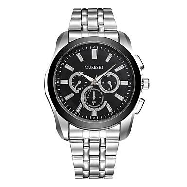 Bărbați Simulat Diamant Ceas Unic Creative ceas Ceas de Mână Ceas Elegant Ceas La Modă Ceas Casual Chineză Quartz Metal Aliaj Bandă