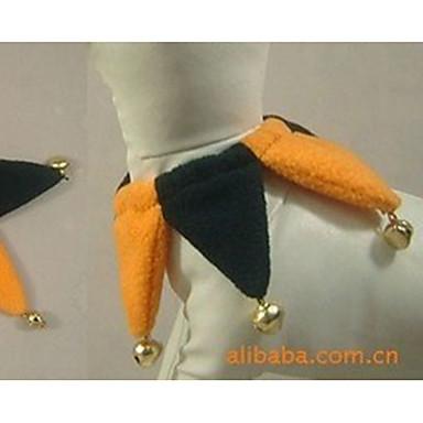 Hund Halskette Hundekleidung Geometrisch Schwarz Gelb Plüsch Kostüm Für Haustiere Halloween