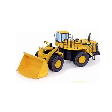 Speelgoedauto's 3D-puzzels Legpuzzel Constructievoertuig Bulldozer Speeltjes Vorkheftruck 3D DHZ Niet gespecificeerd Stuks