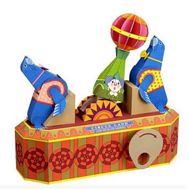 DHZ-kit 3D-puzzels Bouwplaat Speeltjes Vierkant Paard 3D DHZ Mannelijk Tiener Stuks