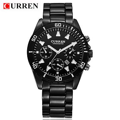 Herrn Sportuhr Militäruhr Kleideruhr Totenkopfuhr Smart Watch Modeuhr Armbanduhr Einzigartige kreative Uhr Chinesisch Quartz Kalender