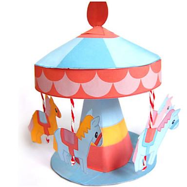 3D-puzzels Bouwplaat Modelbouwsets Speeltjes Paard Carrousel 3D DHZ Niet gespecificeerd Stuks
