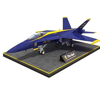 3D-puzzels Bouwplaat Speeltjes Vierkant Vliegtuig 3D DHZ Simulatie Hard Kaart Paper Niet gespecificeerd Stuks