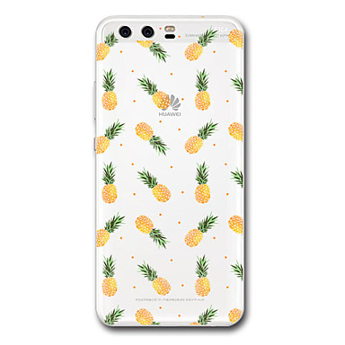 Hülle Für Huawei Transparent Muster Rückseitenabdeckung Anwendung Frucht Weich TPU für P10 Plus P10 P9 P9 Lite P9 Plus P8 P8 Lite