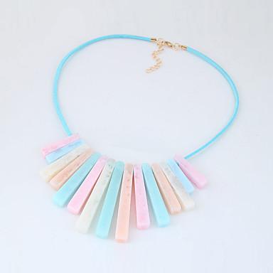 Pentru femei Coliere Geometric Shape Teracotă Aliaj Franjuri La modă Euramerican Bijuterii Pentru Petrecere Zilnic