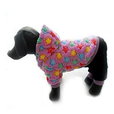 Hund Mäntel Hundekleidung Lässig/Alltäglich warm halten Prinzessin Rosa Hellblau