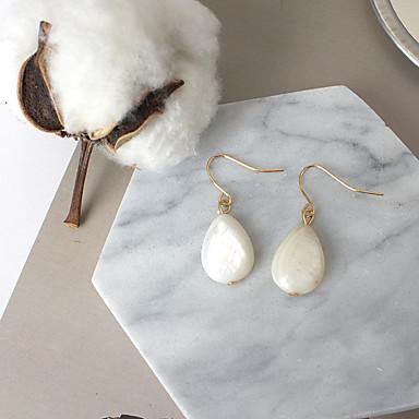 Dames Druppel oorbellen Modieus Euramerican Kostuum juwelen Kauri Legering Drop Sieraden Voor Dagelijks Causaal