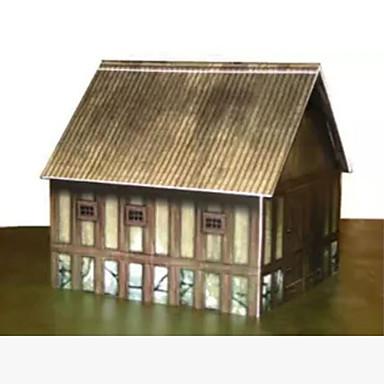 3D - Puzzle Papiermodel Papiermodelle Modellbausätze Haus Heimwerken Hartkartonpapier Klassisch Kinder Unisex Geschenk