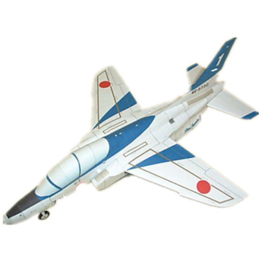 3D-puzzels Bouwplaat Modelbouwsets Speeltjes Vierkant Vliegtuig DHZ Hard Kaart Paper Niet gespecificeerd Stuks