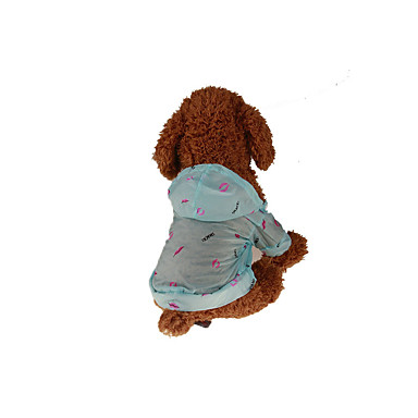 Hund Kapuzenshirts Hundekleidung Lässig/Alltäglich Lippen Weiß Gelb Rosa Hellblau