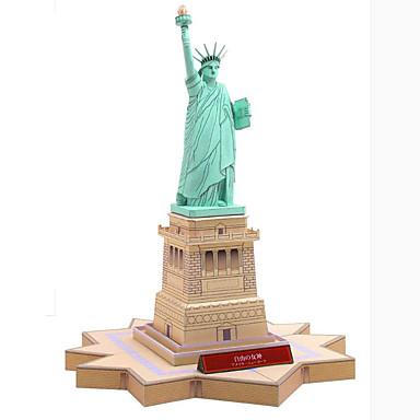 3D-puzzels Bouwplaat Beroemd gebouw Architectuur Vrijheidsbeeld DHZ Hard Kaart Paper Kinderen Jongens Unisex Geschenk