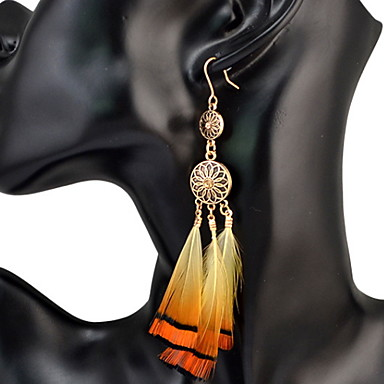 Dames Druppel oorbellen Gepersonaliseerde Luxe Cirkelvormig ontwerp Uniek ontwerp Tupsu Klassiek Bohémien Standaard Sexy Vriendschap