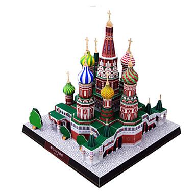 3D - Puzzle Quadratisch Kirche Hartkartonpapier Russisch Unisex Geschenk
