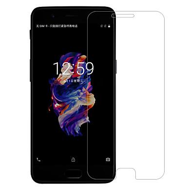 Screenprotector OnePlus voor One Plus 5 Gehard Glas 1 stuks Voorkant screenprotector Anti-glans Anti-vingerafdrukken Krasbestendig