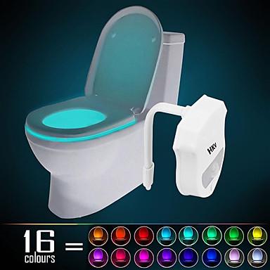 HKV 1 Stück WC-Licht Infrarot-Sensor Farbwechsel