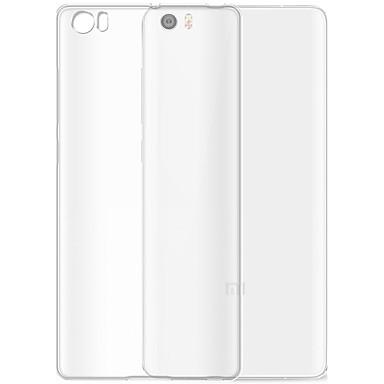 Voor xiaomi mi 5 case cover transparante achterhoes case transparante soft tpu
