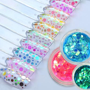 Pailletten Bastelmaterial Blitz 3-D Mädchen & Junge Frauen Klassisch Gute Qualität Alltag Nagel-Kunst-Design