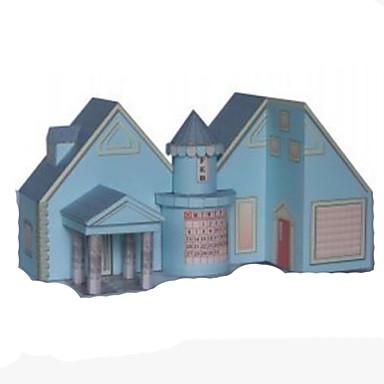 3D-puzzels Bouwplaat Speeltjes Vierkant Huis 3D DHZ Hard Kaart Paper Niet gespecificeerd Stuks