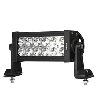 Kkmoon 36w led auto werk licht 6.3 inch 2700lm spot beam bar voor jeep 4x4 offroad atv truck suv 12v 24v