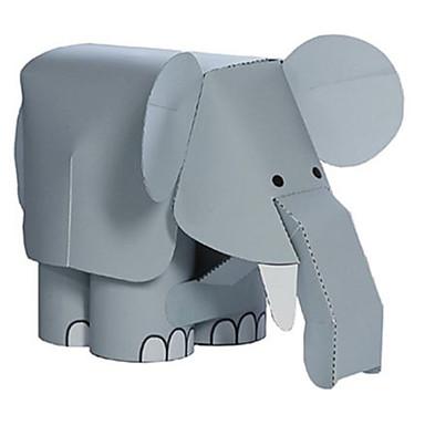 قطع تركيب3D نموذج الورق مجموعات البناء مربع الحيوانات اصنع بنفسك ورق صلب كلاسيكي للجنسين هدية