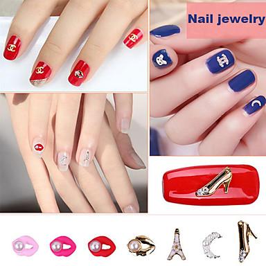pinpai pietre nail art diy lustruire accesorii din aliaj mini perla lip perla design arc