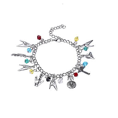 Dames Bedelarmbanden Sieraden Luxe Regenboog Natuur Vriendschap Movie Jewelry Doe-het-zelf Modieus Legering Regenboog Cirkelvorm Sieraden
