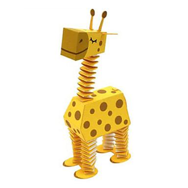 Puzzle 3D Modelul de hârtie Lucru Manual Din Hârtie Μοντέλα και κιτ δόμησης Cerb Animale Reparații Hârtie Rigidă pentru Felicitări Clasic