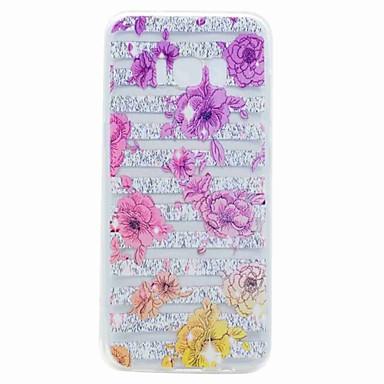 Hülle Für Samsung Galaxy S8 Plus S8 Transparent Muster Rückseite Blume Weich TPU für S8 Plus S8 S7 edge S7 S6 edge S6 S5 Mini S5