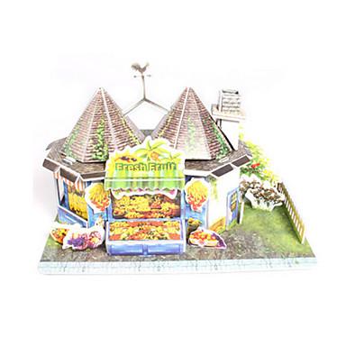 Puzzle 3D Puzzle Modelul de hârtie Μοντέλα και κιτ δόμησης Jucarii Casă Arhitectură 3D Fruct Reparații Hârtie de înaltă calitate Ne