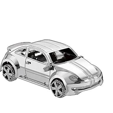 قطع تركيب3D تركيب معدني سيارة 3D مواد تأثيث اصنع بنفسك كروم معدن كلاسيكي للأطفال صبيان للجنسين هدية