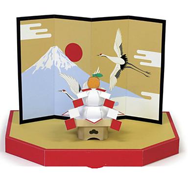 3D - Puzzle Papiermodel Modellbausätze Papiermodelle Spielzeuge Neuheit 3D Heimwerken Einrichtungsartikel Unisex Stücke