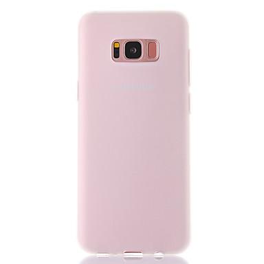 Maska Pentru Samsung Galaxy S8 Plus S8 Mătuit Translucid Capac Spate Culoare solidă Moale TPU pentru S8 Plus S8