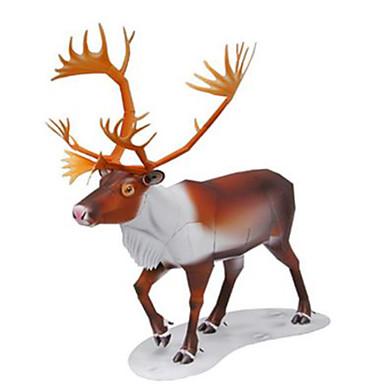 قطع تركيب3D نموذج الورق مجموعات البناء مربع أيل الحيوانات اصنع بنفسك ورق صلب كلاسيكي كل العصور