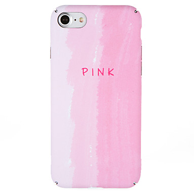 Hoesje voor apple iphone 7 plus 7 hoesje patroon achterhoes hoesje woordzin kleurgradiënt harde pc 6s plus 6 plus 6 6s